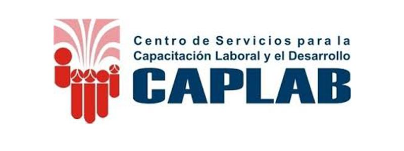 Logo para Caplab: Centro de servicios para la capacitación Laboral y el desarrollo