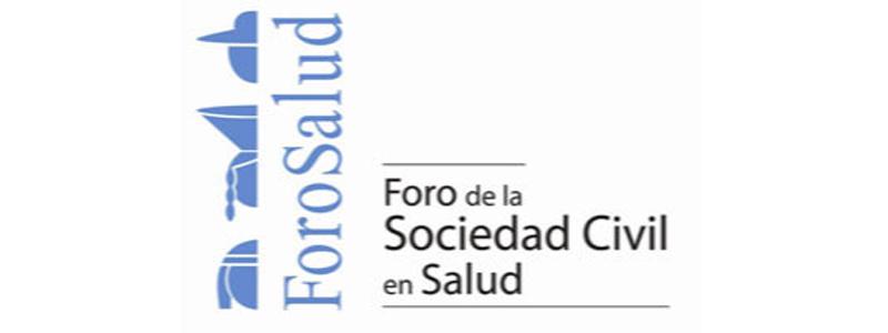 Logo para Foro de la Sociedad Civil en Salud