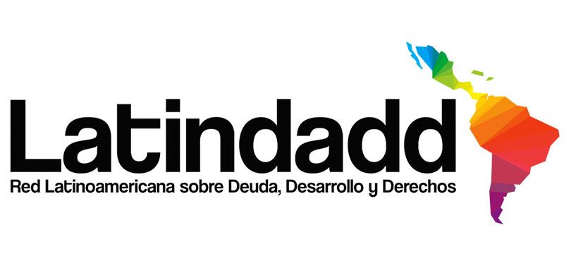 Logo para Latindadd: Red Latinoamericana sobre Deuda, Desarrollo y Derechos