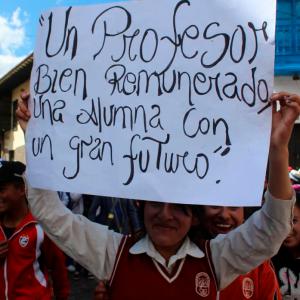 Huelga profesores square
