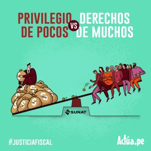 Privilegios de pocos vs. Derechos de muchos